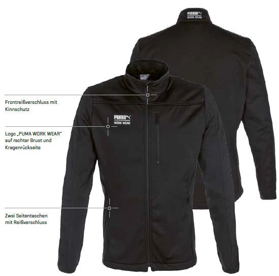 texbm PUMA WORK WEAR Softshell Jacken online kaufen Shop